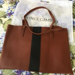 Vince Camino Vegan Leather Bag/ Laptop Carrier